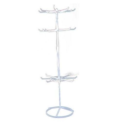 Стелаж въртележка метална 63x21 см -3 реда