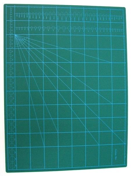 Самовъзстановяваща се подложка за рязане двулицева петпластова A2 42x59.40x0.3 см