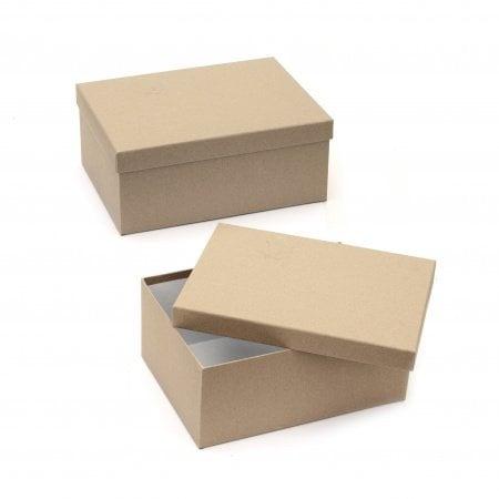 Кутия крафт картон 31x23x13 см