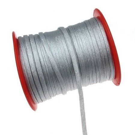 Лента 4x0.8 мм цвят сребро -1 метър