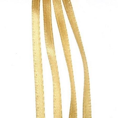Ширит Сатен 3 мм каки -10 метра