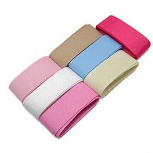 Комплект ленти сатен 13 мм рипс 9 цвята x 1 метър