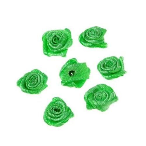 Роза 11 мм зелена тъмна -50 броя