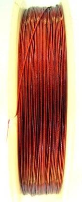 Корда стоманена 0.38 мм червено -100 метра