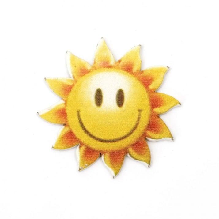 Фигурка дърво слънце 32x1.5 мм -5 броя