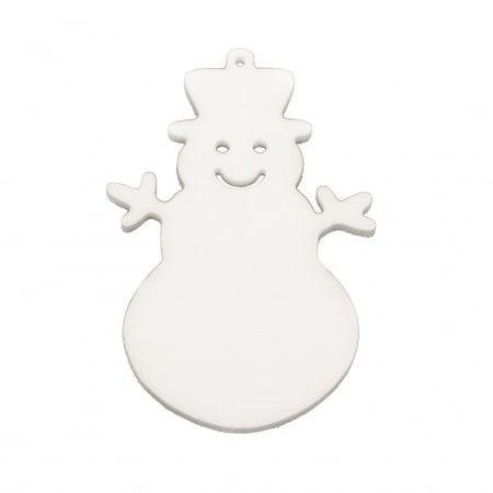 Снежен човек стиропор 100x70x6 мм