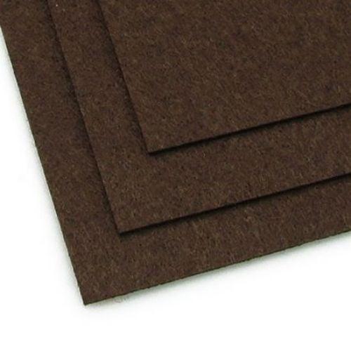 Филц 2 мм A4 20x30 см цвят кафяв тъмно -1 брой