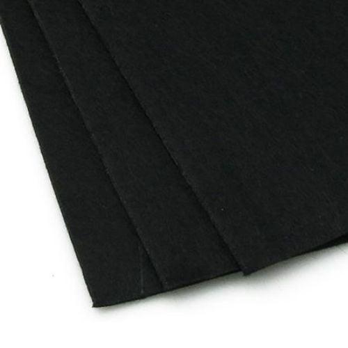 Филц 3 мм A4 20x30 см цвят черен -1 брой