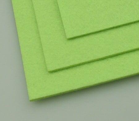 Филц 3 мм A4 20x30 см цвят зелен бледо -1 брой