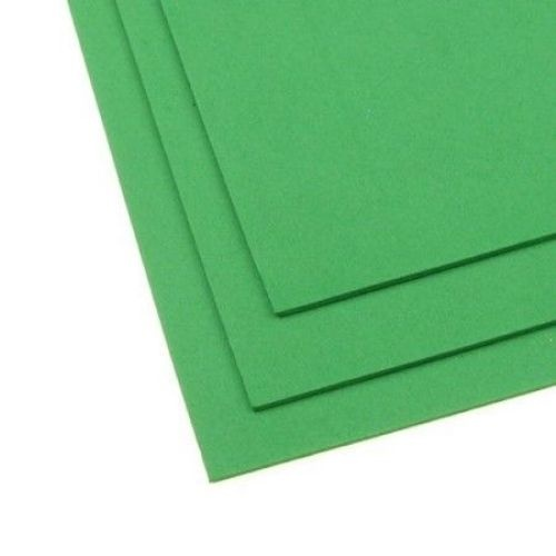 EVA материал /микропореста гума/ 2 мм А4 20х30 см зелен