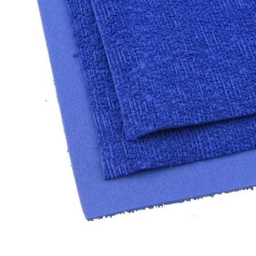 EVA материал /микропореста гума/ 2 мм А4 20х30 см имитация трева син