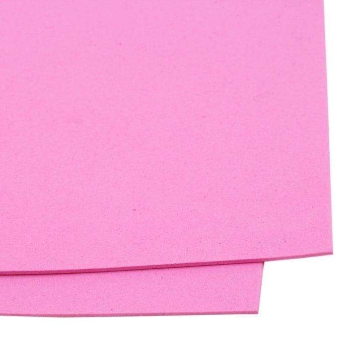 EVA материал /микропореста гума/ 2 мм А4 20x30 см розов