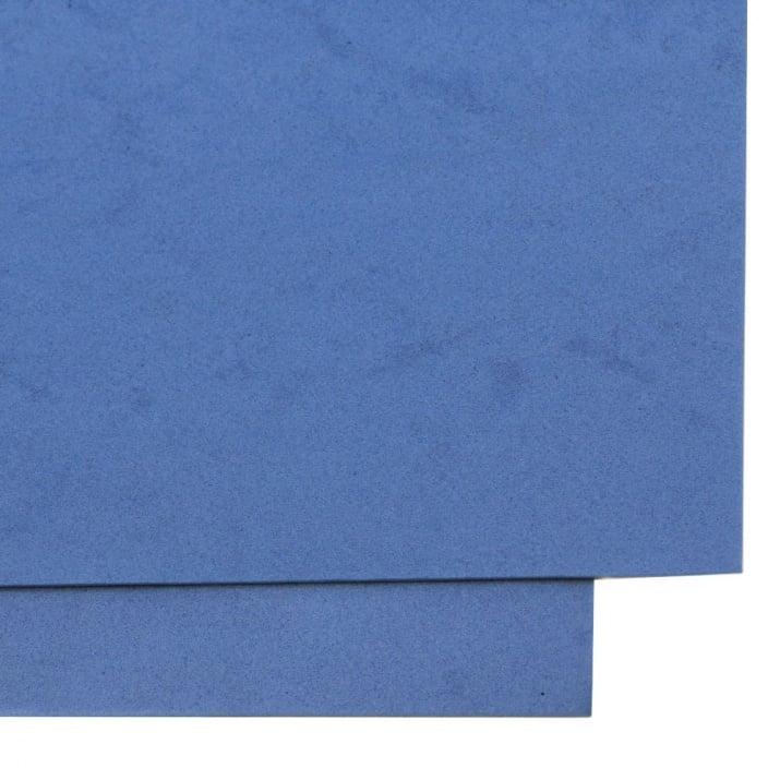 EVA материал /микропореста гума/ 1.5 мм А4 20x30 см син