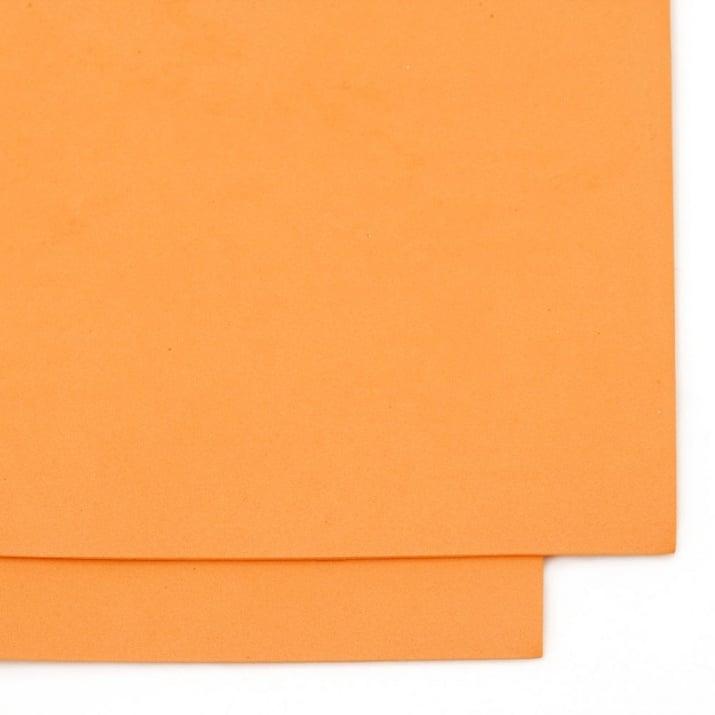 EVA материал /микропореста гума/ 1.5 мм А4 20х30 см оранжев