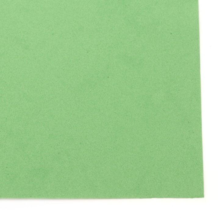 EVA материал /микропореста гума/ 0.8~0.9 мм А4 20х30 см зелен
