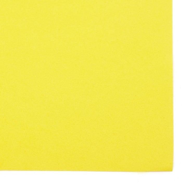 EVA материал /микропореста гума/ 0.8~0.9 мм А4 20х30 см жълт