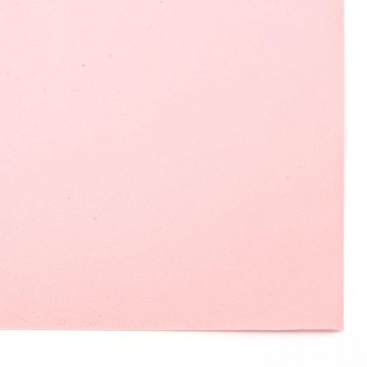 EVA материал /микропореста гума/ 0.8~0.9 мм А4 20х30 см розов