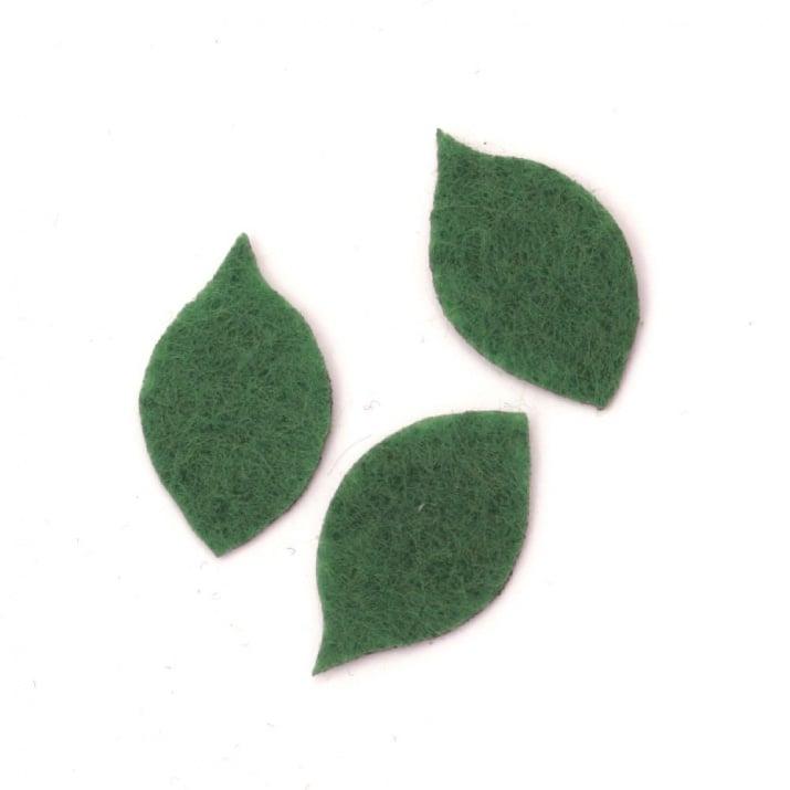 Листо филц 24x14x1 мм -20 броя