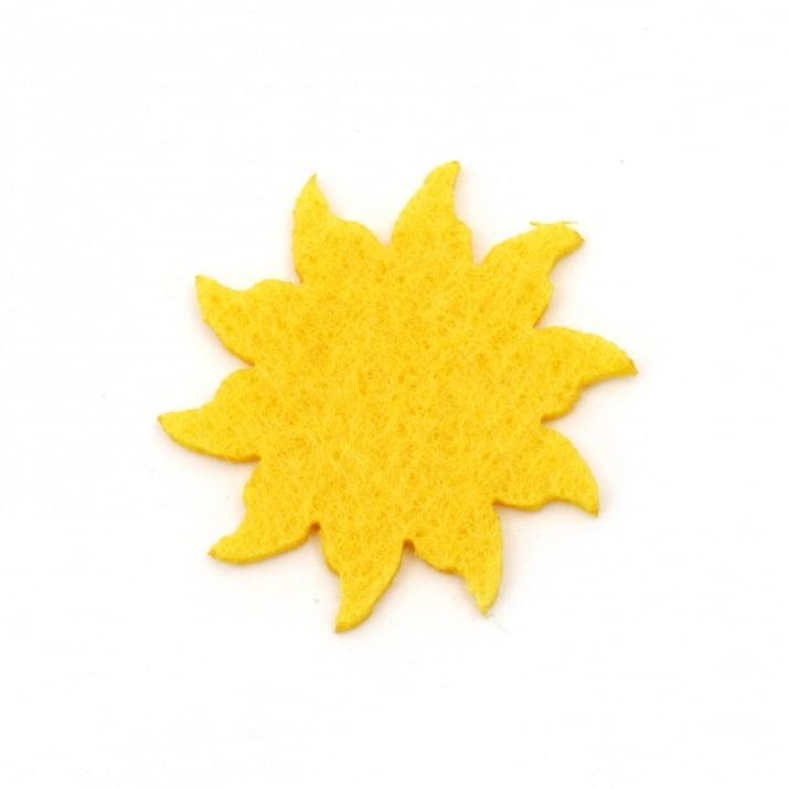 Слънце филц 35x2 мм -10 броя