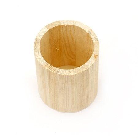 Моливник дървен 80x100 мм