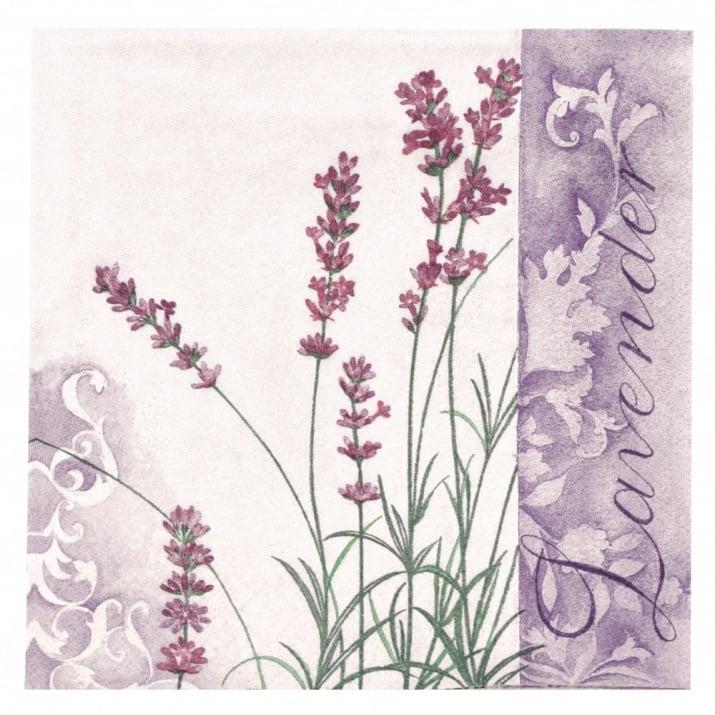 Салфетка ti-flair 33x33см трипластова Scent of Lavender -1 брой