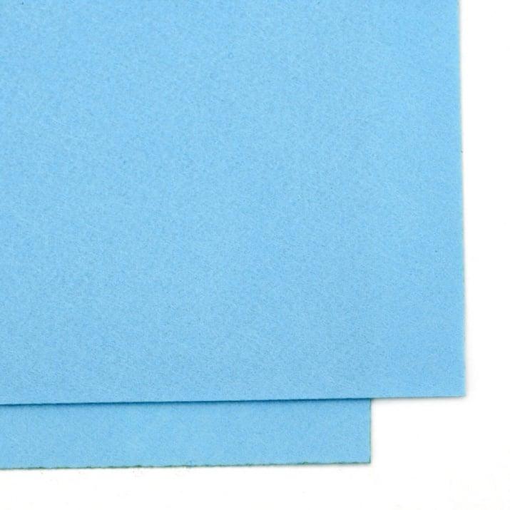 Филц 1 мм A4 20x30 см цвят син светъл -1 брой