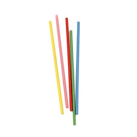Бамбукови пръчки 150x4 мм цветни -40 броя