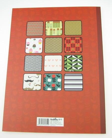 Дизайнерска хартия за скрапбукинг книга (22.5x30.4 см) 24 дизайна x 1 лист (46.5x31 см)