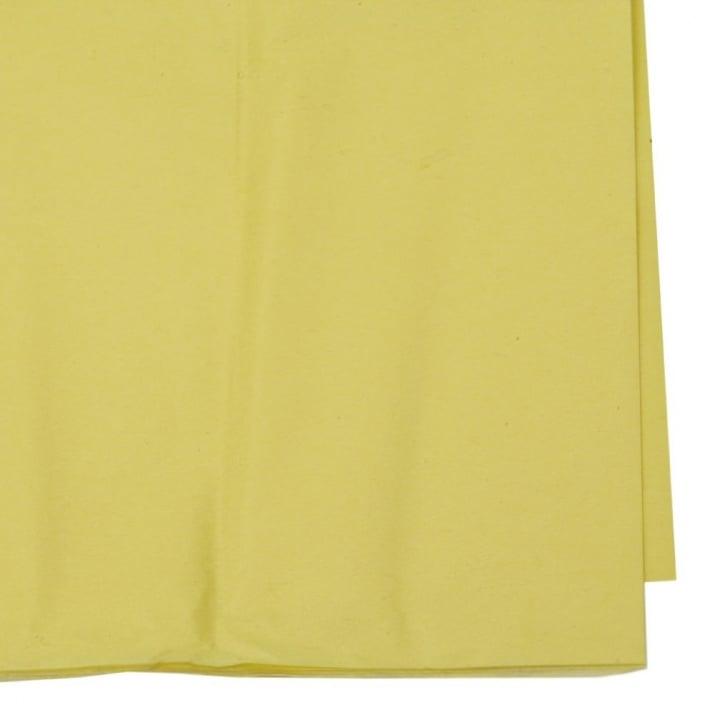 Тишу хартия 50x65 см жълта -10 листа