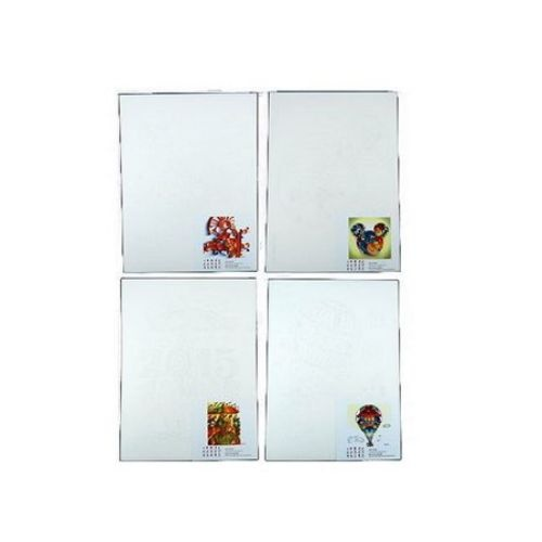 Схема за квилинг А4 /21x29 см/ и модел -серия цветове 4 вида -1 бр