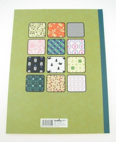 Дизайнерска хартия за скрапбукинг книга (22.5x30.4 см) 24 листа - 46.5x31 см