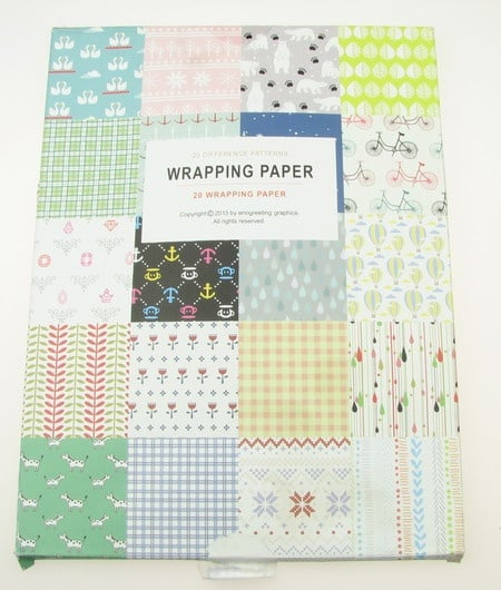 Дизайнерска хартия за скрапбукинг книга (22.5x30.4 см) 20 листа - 58.6x44 см
