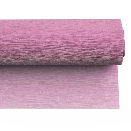 Креп хартия 50x230 см розова-лилава