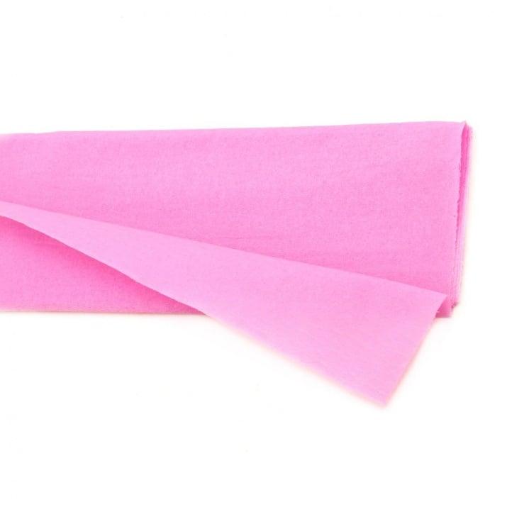 Креп хартия фина 50x100 см розова