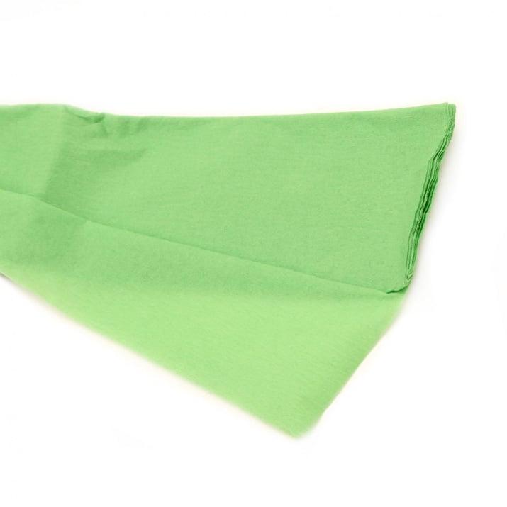Креп хартия фина 50x100 см зелена светло