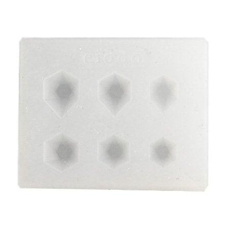 Силиконов молд /форма/ 50x40x9 мм кристали мини