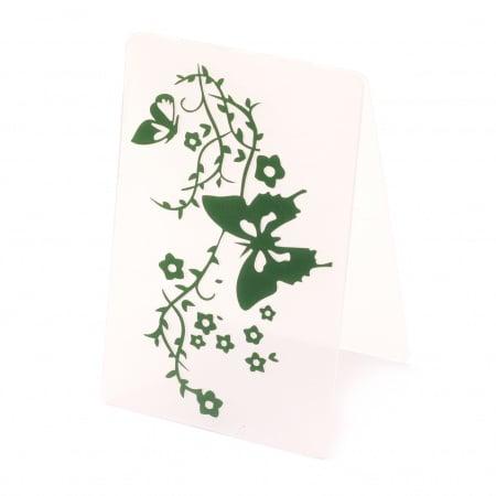 Папка за релеф 10x15 см -клонка с пеперуди
