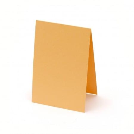 Основа за картичка 10x15 см хоризонтална цвят оранжев -10 броя