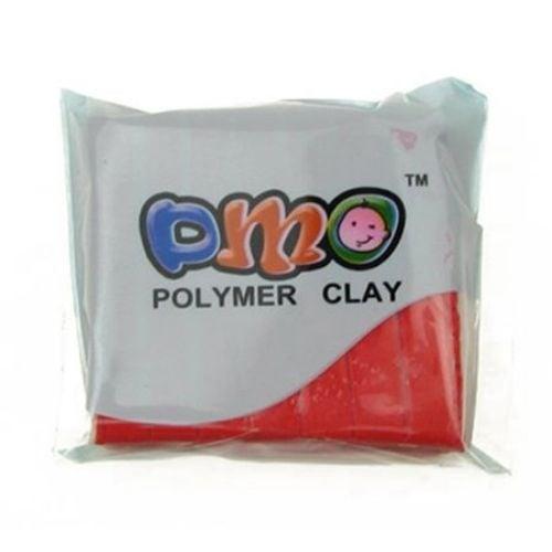 Полимерна глина червена - 50 грама