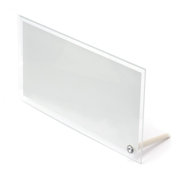 Рамка стъкло за сублимационен печат 14.7x29.5 см за снимка 13x27.5 см