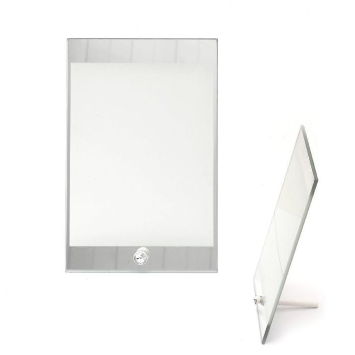 Рамка стъкло за сублимационен печат 14.9x22.5 см за снимка 13.8x17.5 см с огледало