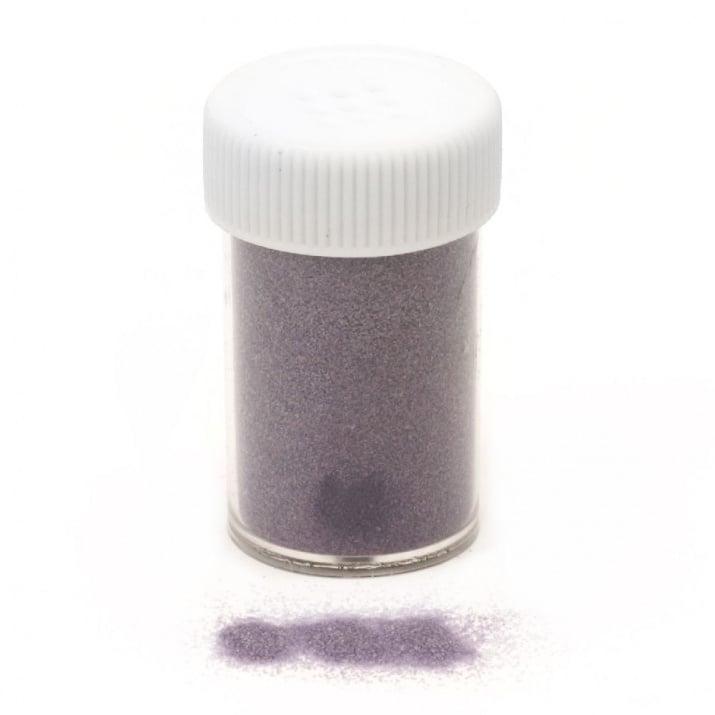 Ембосинг пудра в бурканче/солничка фина цвят лилав -10~11 грама