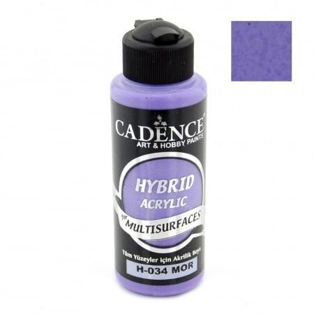 Акрилна боя CADENCE HYBRID 120 мл - PURPLE H-034