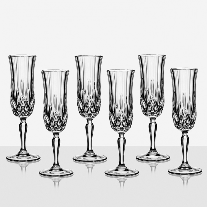 Opera 6 чаши шампанско