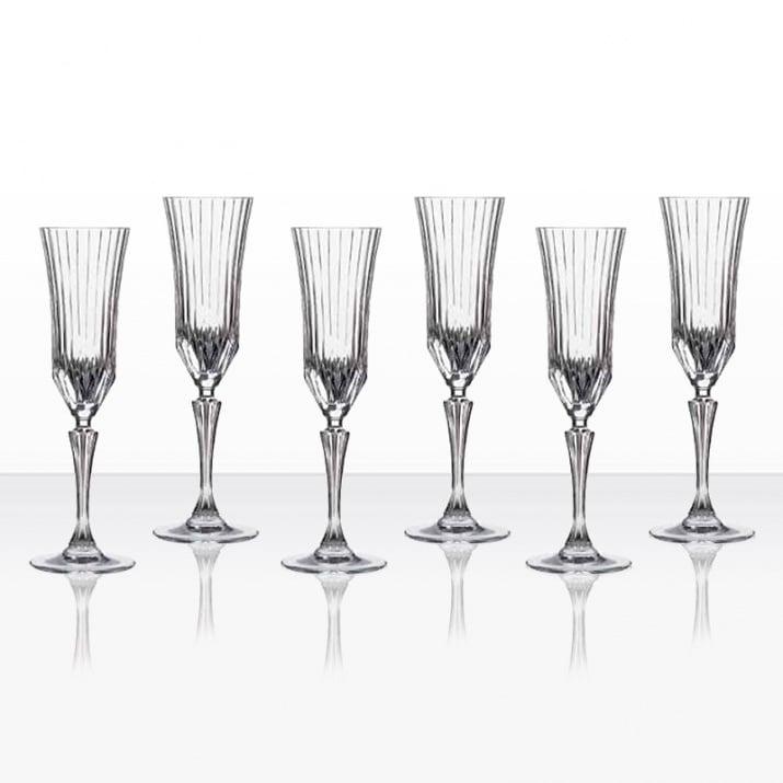 Adagio 6 чаши шампанско