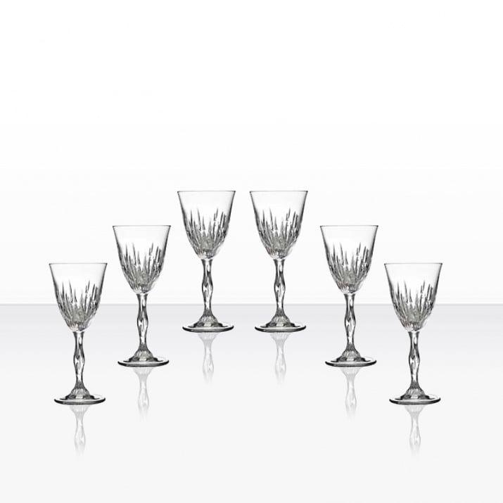 Fire 6 чаши вино