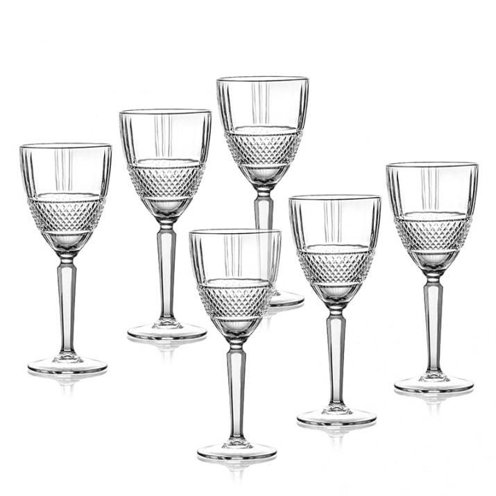 Brillante 6 чаши за вино