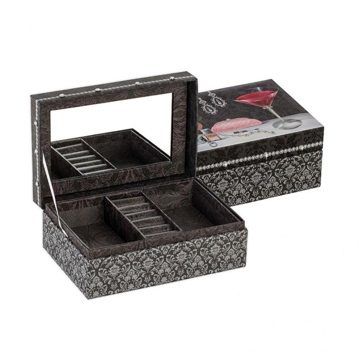 Коктейл кутия за бижута