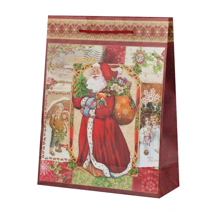Дядо Коледа харт.торба пакет 10бр.