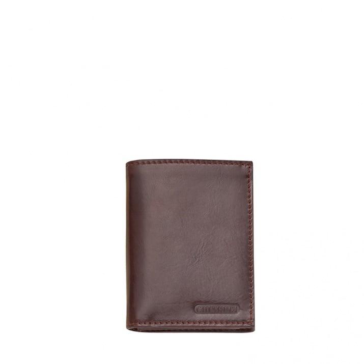 Тъмно кафяв мъжки портфейл CHIARUGI